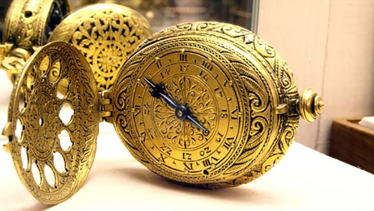 The Nuremberg Egg was an innovation credited as being the first wearable timepiece.