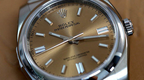 Rolex OYSTER PERPETUAL 36mm White Grape.